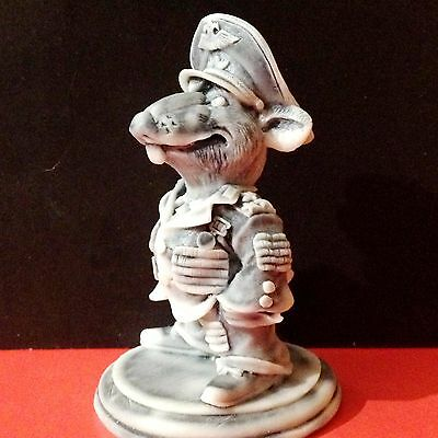 Rat Warlord army Colonel marble chips Figurine Souvenirs from Russia
