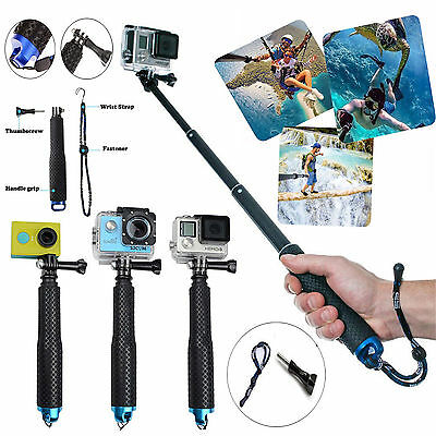 49cm Waterproof Monopod Tripod Selfie Stick Pole Handheld for Gopro Hero 4 3 2