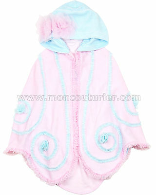 Kate Mack Girls' Towel Butterfly Wishes, Sizes 4-10
