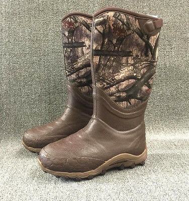 SIZE 12 Under Armour Men's HAW 800gm insulated Hunting Boots neoprene mossy oak