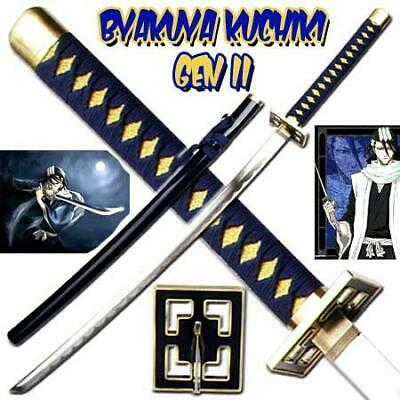 NEW War Sword BLEACH Byakuya Kuchiki Sword Gen II