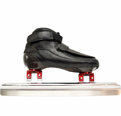 Short Track Set Speed Skates boots + Short Track Ice Speedskating Blades