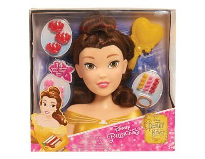 JP Disney Styling Princess Belle Styling Head Beauty and the Beast