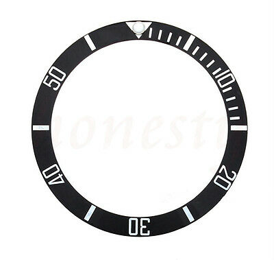 38mm New High Quality Black Ceramic Bezel Insert For Sub GMT Automatic Watch