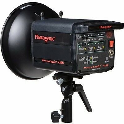 Photogenic PowerLight PL1250 500 W/S Monolight Flash with Digital Display