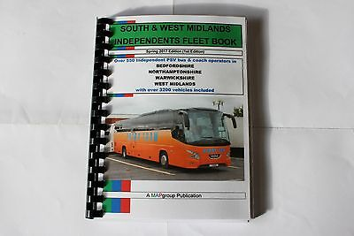 South & West Independents Bus Fleet Book 2017
