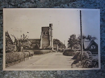 Calverhall, The Village - F. Frith & Co old postcard - mailed 1957