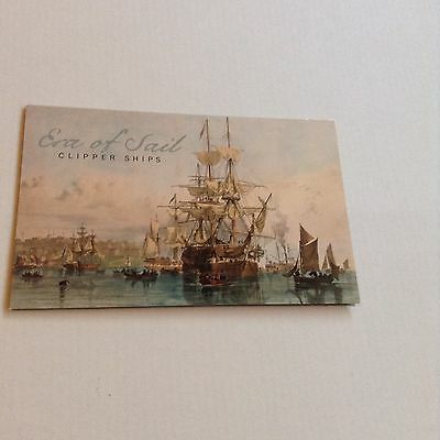 2015 Era of Sail, Clipper Ships Booklet, Like Near Mint Condition