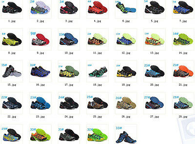 HOT!!! Outdoor Men's Salomon Speedcross 3 Athletic Running Hiking Sneakers Shoes