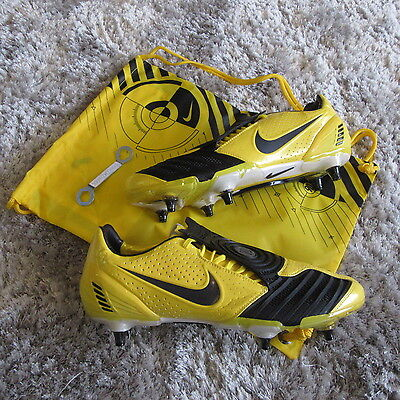 mens nike total Ninety 90 laser SG Soft ground football boots studs size uk 11.5