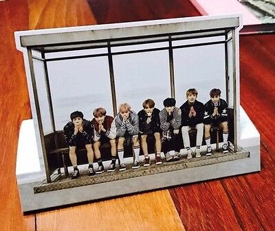 BTS WINGS You Never Walk Alone Bangtan Official Goods Pre-order Photo Standee
