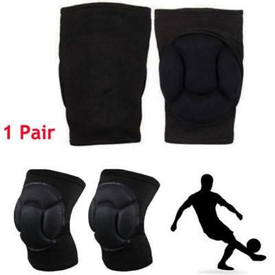 Thicken Sponge Foam Padded MMA Volleyball Wrestling Knee Cap Pads Protector FW