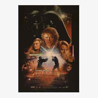 Star Wars  Papery Posters Bedroom living room Background wall sticker