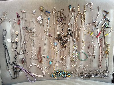 Bulk lot 57 Pieces Costume Jewellery Some Vintage