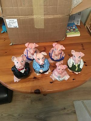 NatWest Pigs With original NatWest Stoppers