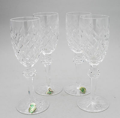 Waterford Crystal Set Of 4 Rare Vintage Powerscourt Pattern Sherry Glasses