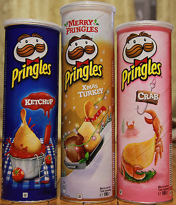 3 packs Pringles chips from Russia