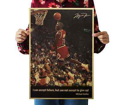 Michael Jordan 23 Papery Posters Bedroom living room Background wall sticker