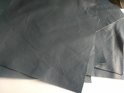 Offcuts of Grey Soft kid goatskin Leather with thickness 0.9mm No.L234