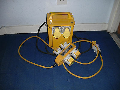 110V Transformer 3.5Kw With 4 Way Splitter 2Mtr Extension Lead