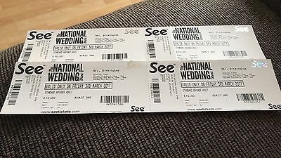 4x The National Wedding Show 3/3/2017