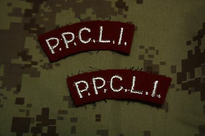 Canadian Forces / PPCLI / Shoulder Flashes