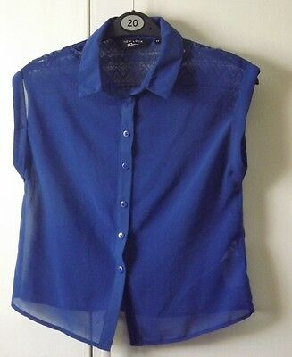 New Look 915 Generation Blue Shirt 11years