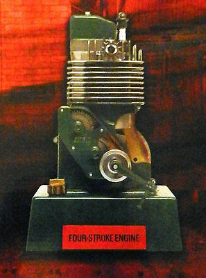 Airfix A07870 Model Of A 4 Stroke Engine, Possible Live Steam Driven Accessory