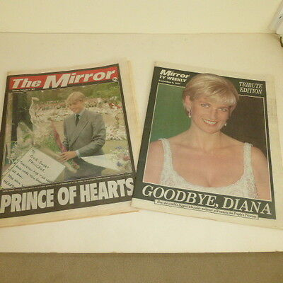 1997 Daily Mirror And T V Weekly