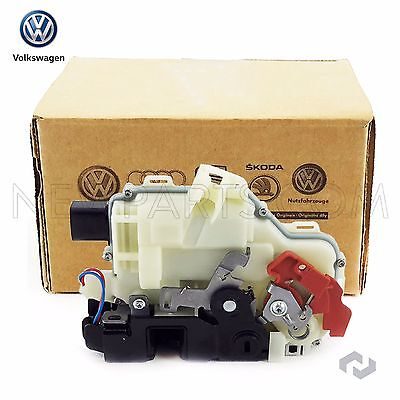 NEW VW GTI Jetta Rabbit Rear Passenger Right Door Latch Lock Assembly Genuine
