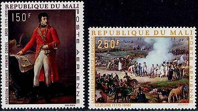 1969 Mali Pa N°66/67** Napoleon Tableaux Cheval / Painting Horse Mnh