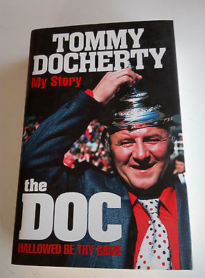 Tommy Docherty My Story signed by him