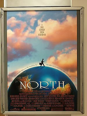 Cinema Poster: NORTH: (One Sheet) Elijah Wood Bruce Willis Jason Alexander