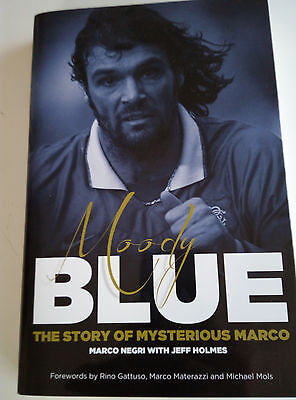 Moody Blue the story of Rangers' Marco Negri - signed by him