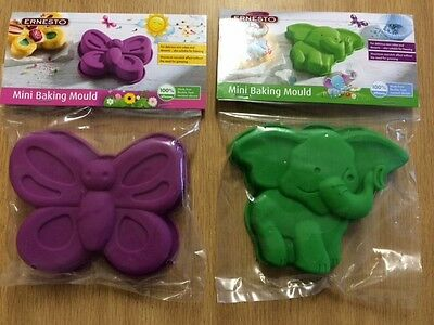 Elephant And Butterfly Mini Baking Mould New
