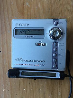Sony Portable Mini Disc Player MZ-N707 Type R. MDLP NetMD