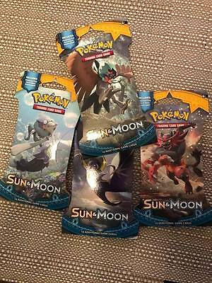 Pokemon TCG Sun and Moon Blister/Booster Pack
