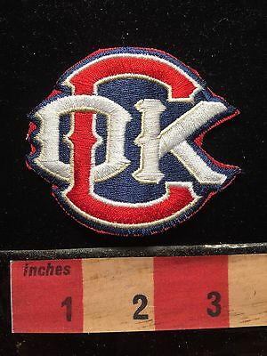 Oklahoma City REDHAWKS (now Dodgers) Minor League Baseball Souvenir Patch 69II