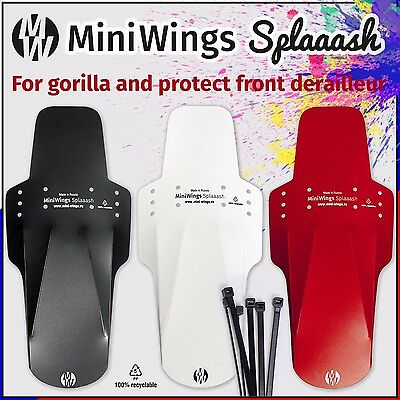 The Mini Wings Splaaash mud mucky mtb guard enduro ass nutz fender savers marsh