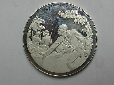 Silver 1899 Escape From The Boers Medal