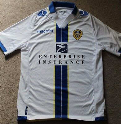 Leeds United Home Shirt 2013/14 Small