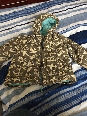 Boys Padded Coat From John Lewis Aged 18-24 Months