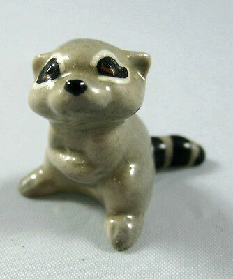 Hagen Renaker miniature made in America Racoon Baby retired