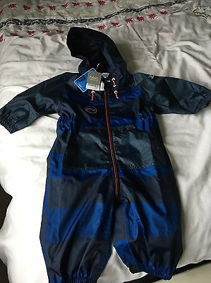 Next Boys Puddle Suit 9-12 Brand New With Tag BNWT