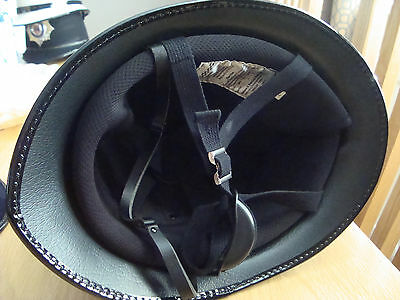IMMACULATE UNISSUED HAMPSHIRE POL  SGTs HELMET 59/60CM L