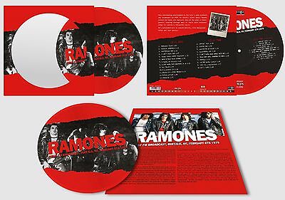 The Ramones - WBUF FM Broadcast Buffalo NY Feb 8TH 1979. New Picture Disc LP