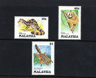 """MALAYSIA 1985 """" Protected Animals  """" set comp.  MINT NH"""