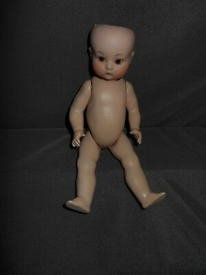 Armand Marseille #310, w/ 7.5 Composition Body, Reproduction, 1982,  Adorable