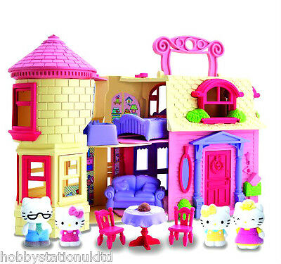 Hello Kitty Play Set Happy Home Playset Vellutata Happy Home Play Set Age 4+ New