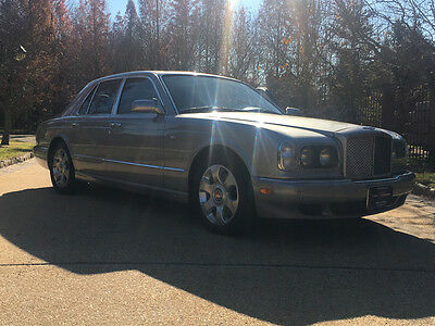 2000 Bentley Arnage  low mile free shipping warranty clean luxury exotic rare collector red label